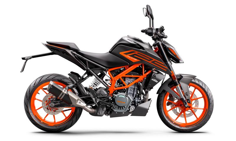 【KTM】MY 2021ストリートモデル6機種の価格を8/1より改定 記事2