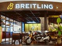 【トライアンフ】スイスの腕時計メーカー「ブライトリング」との長期的パートナーシップを締結 メイン