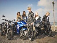 ジクサー250シリーズがタイアップした MV「sun kissed love」が YouTube で公開 メイン