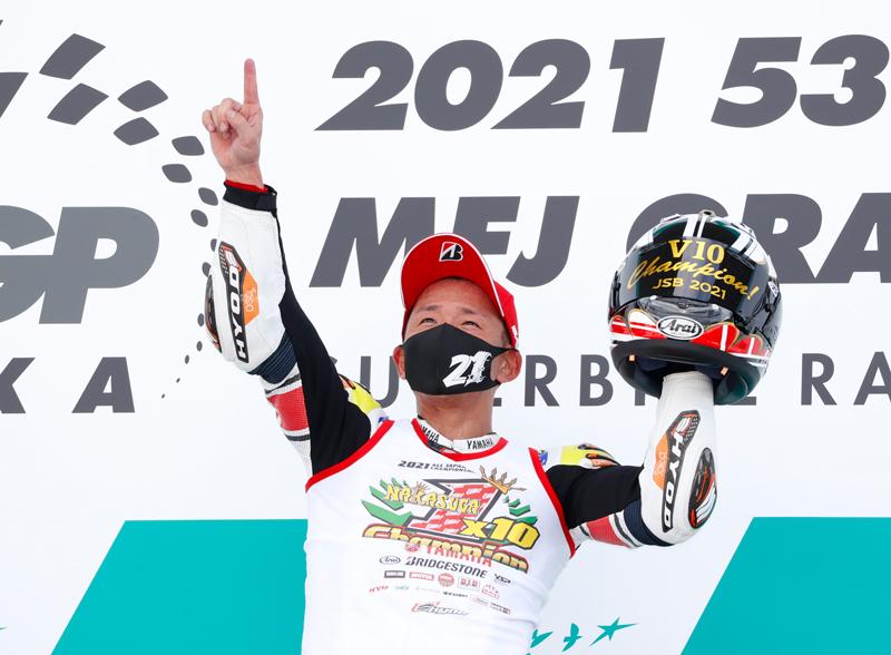 全日本選手権第5戦 JSB1000で中須賀克行選手が通算10度目のタイトルを獲得 記事4