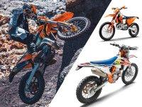 【KTM】さらなるパフォーマンスアップを果たした MY 2022 エンデューロモデル12機種を発表 メイン