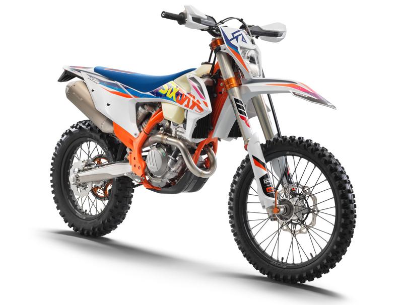 【KTM】さらなるパフォーマンスアップを果たした MY 2022 エンデューロモデル12機種を発表 記事8