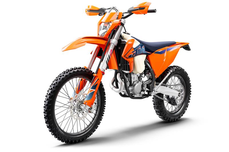 【KTM】さらなるパフォーマンスアップを果たした MY 2022 エンデューロモデル12機種を発表 記事11