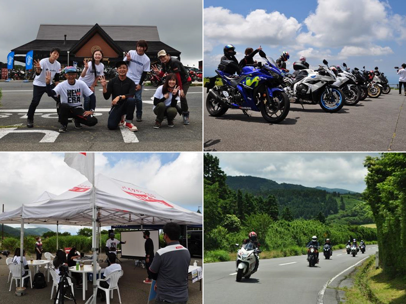 バイク王がクローズドイベント「つるの剛士さん参加!日帰りツーリングイベント」を開催 メイン