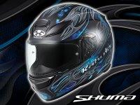 新次元の涼しさを実現したカブトのフルフェイスヘルメットにグラフィックモデル「SHUMA FRAME」が登場! メイン
