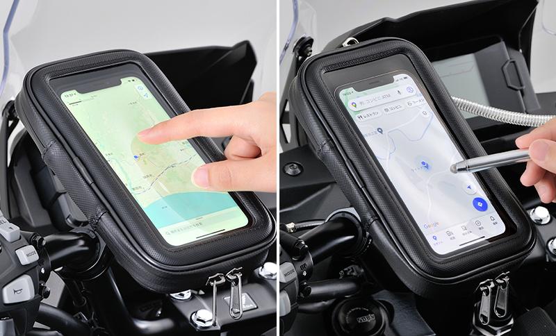「バイク用スマートフォンケース2」がデイトナから8月中旬発売 記事1