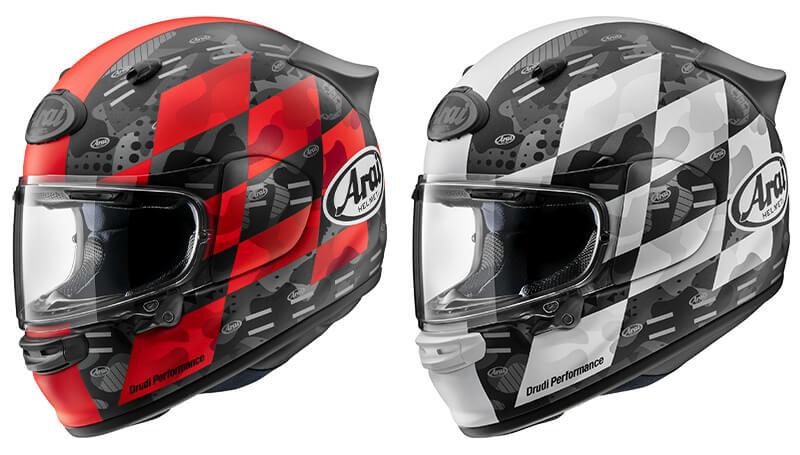 アライのフルフェイスヘルメット「アストロ GX」にチェッカー模様のグラフィックモデルが登場! 9月下旬発売 記事2