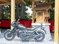 千葉県柏市に新たなオートバイ神社が建立! 一般公開は8/19より