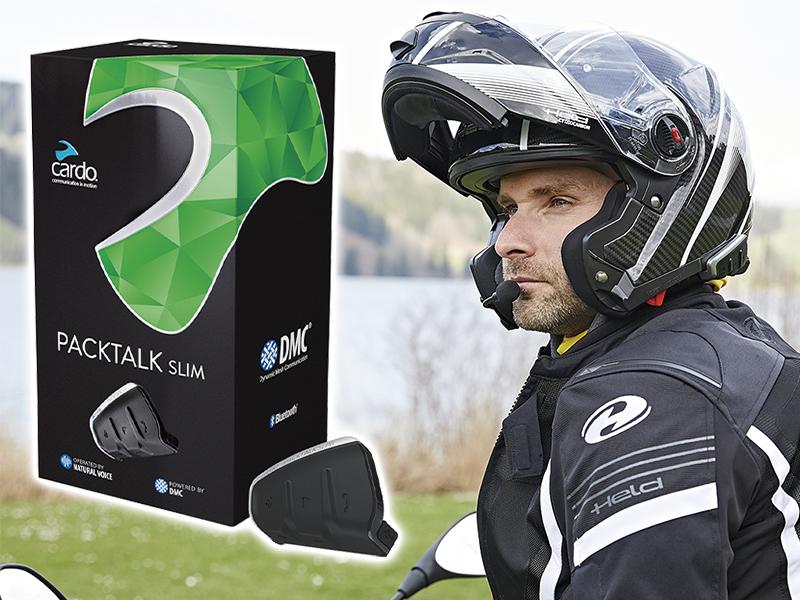 カルドのバイク用インカム「PACKTALK SLIM JBL」が特別価格で手に入るキャンペーンが8/20よりスタート メイン