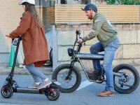 【COSWHEEL】試乗車を自宅にお届け! 電動バイク「SMARTEV」の訪問型試乗サービスをスタート メイン