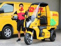 【アイディア】DHL ジャパンが電動3輪バイク「AA カーゴ α 4」を導入 サムネイル