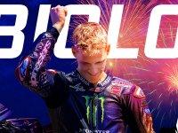 【ヤマハ】ファクトリー加入1年目の快挙! ファビオ・クアルタラロ選手が MotoGP クラスのタイトルを獲得 サムネイル